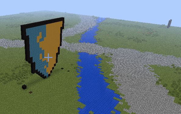 The Sign of Skerries Minecraft 2013