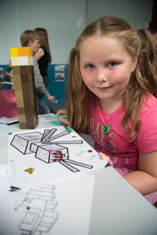 Caroline Curley Minecraft Party 2015 (26)