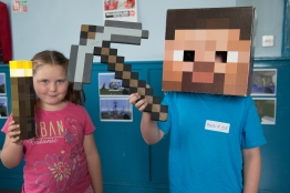 Caroline Curley Minecraft Party 2015 (3)
